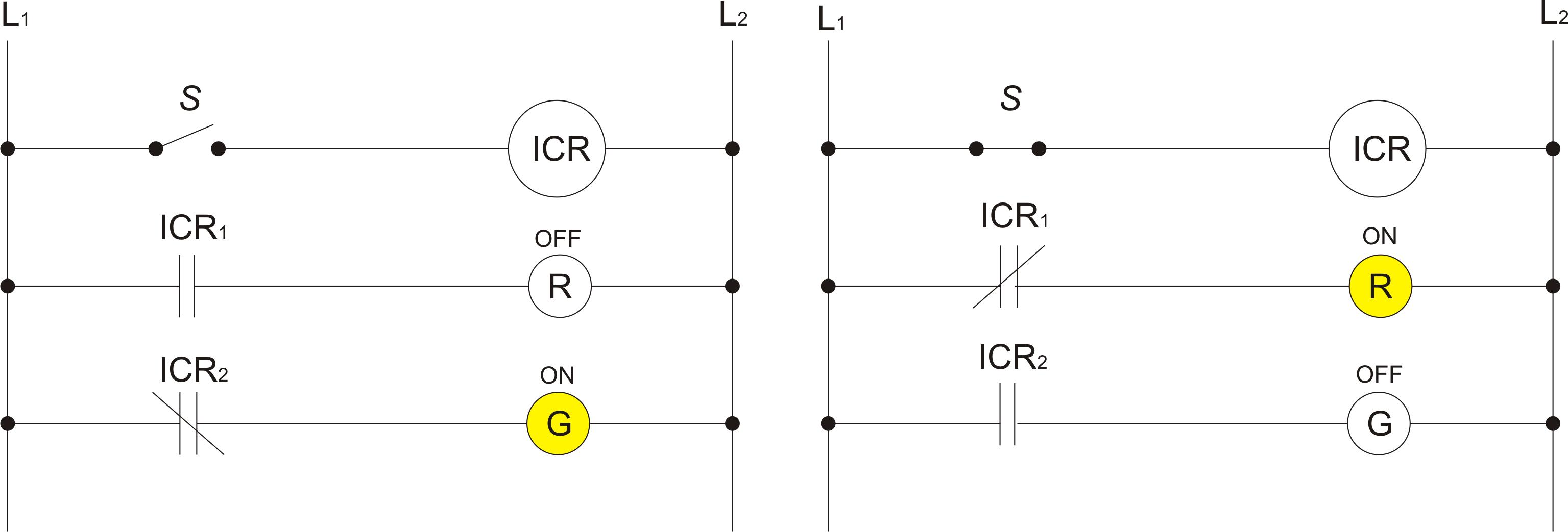 Elektronika Industri Ti 36 03 Solid State Relay Circuit Diagram Gambar Skema Rangkaian 12 Relai Yang Digunakan Untuk Mengontrol Beberapa Operasi Penghubungan Dengan Arus Tunggal Terpisah